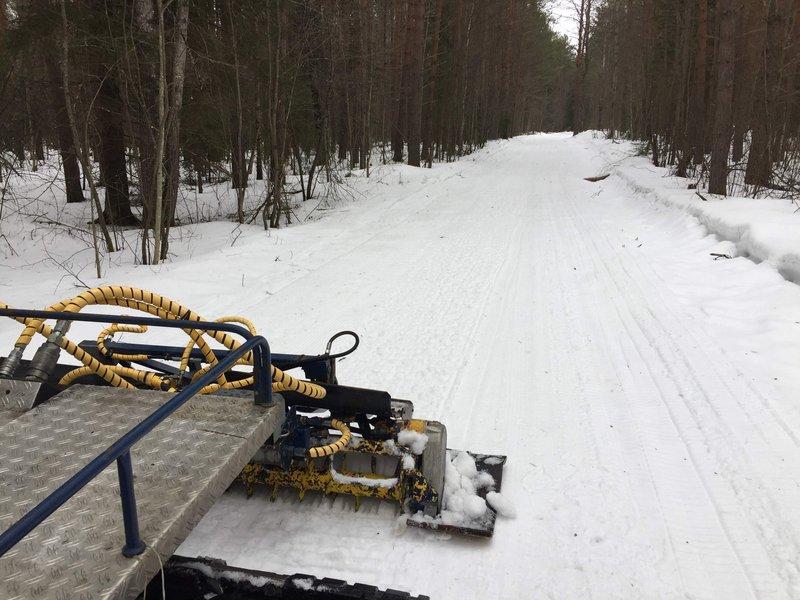 Харовск лыжня